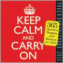 Book Cover Image. Title: 2013 Keep Calm and Carry On Page-A-Day Calendar, Author: by Prairie Home Companion,�Prairie Home Companion