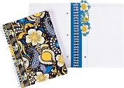 Product Image. Title: Vera Bradley Ellie Blue Spiral Notebook Journal (6x8.25)