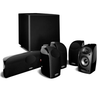 Buy audio electronics home theater systems - Polk Audio TL1600 Black 5.1-Channel Home Theater System