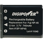 Product Image. Title: DigiPower BP-NP45 Digital Camera Battery