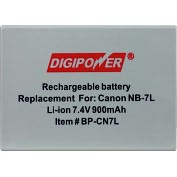 Product Image. Title: DigiPower BP-CN7L Digital Camera Battery