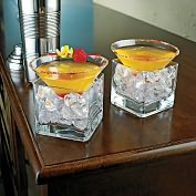 Product Image. Title: Midtown Martini Chillers - Set of 2