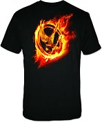 Product Image. Title: Hunger Games Movie Mens T-shirt X-Large