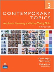 Contemporary Topics 3: Academic and Not...