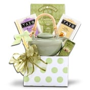 Product Image. Title: Alder Creek Tazo Tea Gift Basket