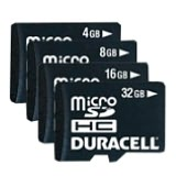 Product Image. Title: Duracell DU-2IN1-32G-R 32 GB MicroSD High Capacity (microSDHC) - 1 Card