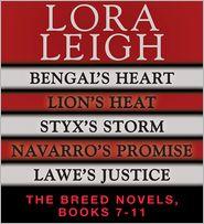 Lora Leigh - Lora Leigh: The Breeds Novels 7-11
