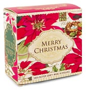 Product Image. Title: Little Soap Poinsettia