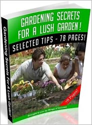 save to buy more (Editor) 99 ¢ store - Gardening Secrets For A Lush Garden!
