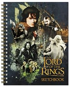 Product Image. Title: The Lord of the Rings Spiral Sketchbook