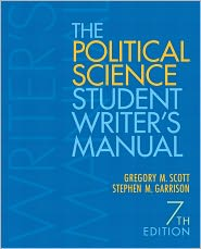 The Political Science Student Writer's ...