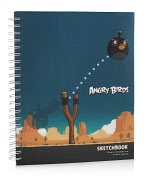 Product Image. Title: The Angry Birds Lenticular Spiral Sketchbook