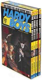 Hardy Boys Boxed Set, Volumes 5 - 8 (Hardy Boys by Scott Lobdell: Book Cover