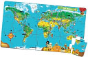 LeapFrog LeapReader Interactive World Map Puzzle (works with Tag): Product Image