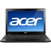 "Product Image. Title: Acer Aspire One AO725-C62kk 11.6"" LED Netbook - AMD C-Series C-60 1 GHz"