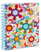 "Product Image. Title: Dotty Daisy Lined Journal (6""x8"")"