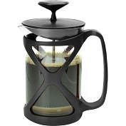 Product Image. Title: Primula Cafe Color Tempo Press 6 Cup - Black