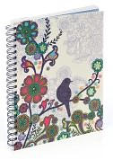 "Product Image. Title: Boho Bird 3-Subject Notebook (8.5""x11"")"
