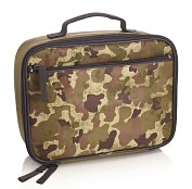 Product Image. Title: Camouflage Square Zippered Lunch Tote (10 x 8 x 3.5)