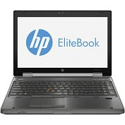 "Product Image. Title: HP EliteBook 8570w B8V82UT 15.6"" LED Notebook - Core i7 i7-3610QM 2.3GHz - Gunmetal"