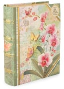 Product Image. Title: Orchid Tapestry Book Box Duo Note Cards