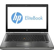 "Product Image. Title: HP EliteBook 8470w B8V37UT 14"" LED Notebook - Core i5 i5-3320M 2.6GHz - Gunmetal"