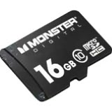 Product Image. Title: Monster Cable USD-0016-101 16 GB MicroSD High Capacity (microSDHC) - 1 Card