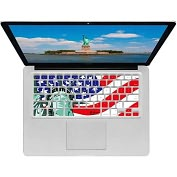 "Product Image. Title: KB Covers Liberty Keyboard Cover for MacBook, MacBook Air 13"" & MacBook Pro (Unibody)"