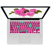 Product Image. Title: KB Covers Pink Roses Keyboard Cover