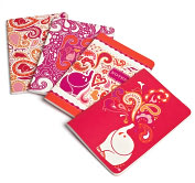 Product Image. Title: Jonathan Adler Pink Elephant Miniature Journals-Set of 4 (4x6)