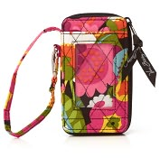 Product Image. Title: Vera Bradley VaVa Bloom All in One Wristlet (3x5.25x.75)