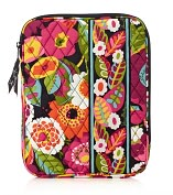 Product Image. Title: Vera Bradley VaVa Bloom Tablet Sleeve (8x 10.25 x .63)