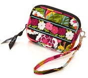 Product Image. Title: Vera Bradley VaVa Bloom Tech Fabric Case (5X3.25X .5)