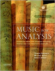 Music for Analysis: Examples from the C...