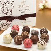 Product Image. Title: Godiva 12 Piece Ultimate Dessert Truffles Box