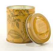 Product Image. Title: Orange Blossom Botanical Tin Candle