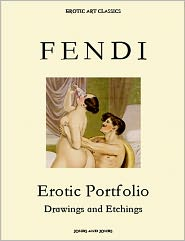 Whitworth Karlin - PETER FENDI, Erotic Portfolio, Drawings and Watercolors