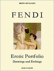 Whitworth Karlin - PETER FENDI, Erotic Portfolio, Drawings and Watercolors