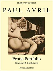 Whitworth Karlin - PAUL AVRIL, Erotic Portfolio, Drawings and Illustrations