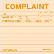 Product Image. Title: Complaint Sticky Note 100 Sheets