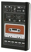 Product Image. Title: Moleskine Limited Edition Audio Cassette Large Ruled 5x8.25