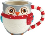 Product Image. Title: Snowy Owls mug