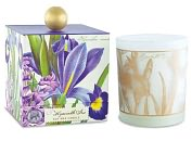 Product Image. Title: Hyacinth Iris Large Soy Wax Candle 14oz