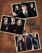 Product Image. Title: Harry Potter Collage Sketchbook (9.25 x 11)
