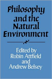 Philosophy and the Natural Environment