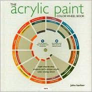 flat color vegetables acrylic paint color wheel book john barber