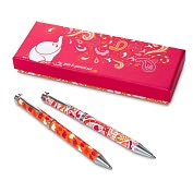 Product Image. Title: Jonathan Adler Pink Elephant Pen & Pencil Set