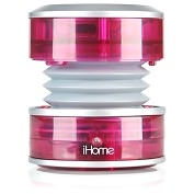 Product Image. Title: iHome iHM60 2.0 Rechargable Mini Speaker - Pink