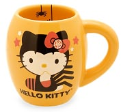 Product Image. Title: Hello Kitty Halloween ''Spiders'' 18oz Oval Mug