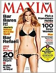 Magazine Cover Image. Title: Maxim - One Year Subscription